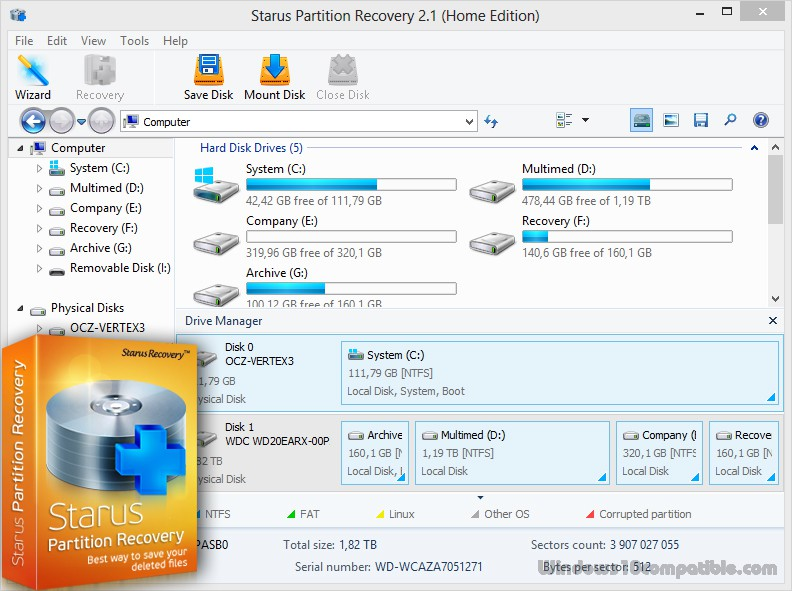 Starus Partition Recovery 2 1 Free download